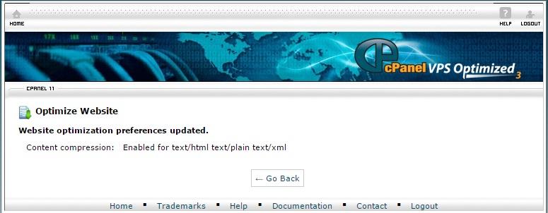 Weboldal tömörítés cPanel csomagokban - INTEGRITY Tudásbázis